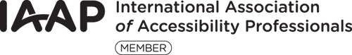IAAP International Association of Accessibility Professionals member